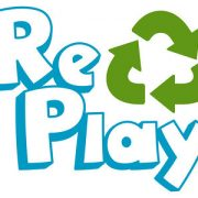 Re-Play Logo Stacked-S